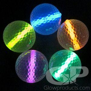 Glow Golf Balls for Night Golf