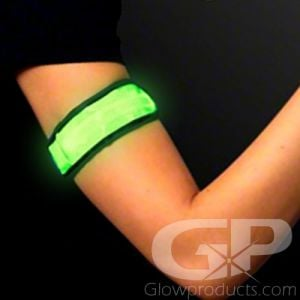 Light Up LED Glowing Arm Bands