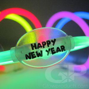 New Years Glow Sticks Bracelets