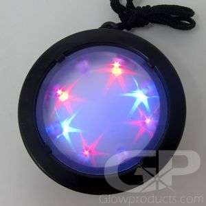 Light Up Starburst Infinity Necklace