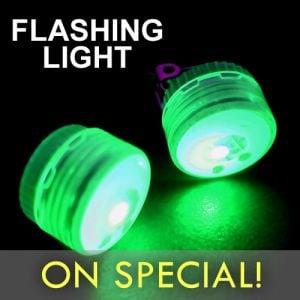 Flashing LED Mini Clip Light