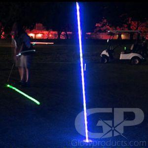 LED Night Golf Flag Sticks