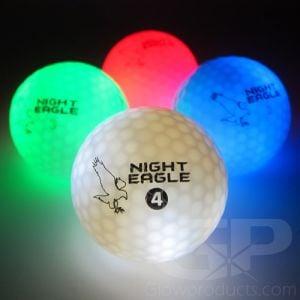 Light Up LED Golf Balls Assorted Color Mix Pack