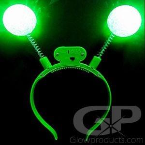 Glowing Alien Headband Bopper