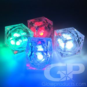 Light Up Ice Cubes Assorted Colors