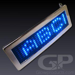 Light Up Scrolling Message LED Belt Buckle