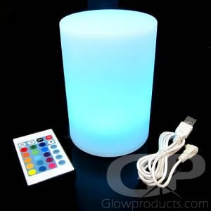 Large Pillar Light Up Decor LED Mood Lamp with Remote