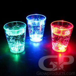 Light Up LED Shot Glasses