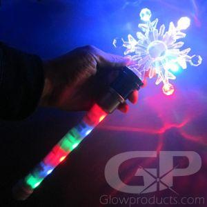 Light Up Snowflake Wand