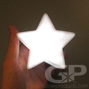 White Star LED Glow Lamp