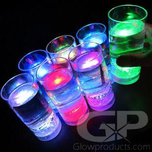 Light Up LED Drink Glasses