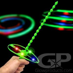Glowing LED Helicopter Flyer Toy