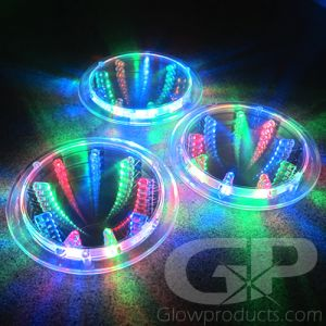 Glow in the Dark Drink Coasters with LED Light