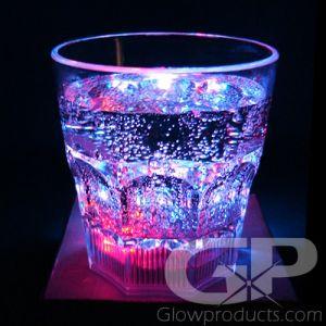 Light Up Whiskey Rock Glasses