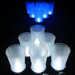 Light Up Glow Beer Pong Set