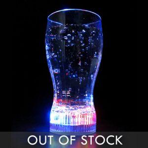 Flashing LED Drink Glow Glasses