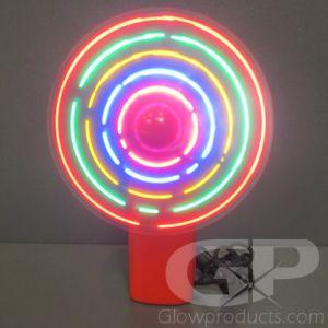 Light Up LED Glowing Pocket Fans