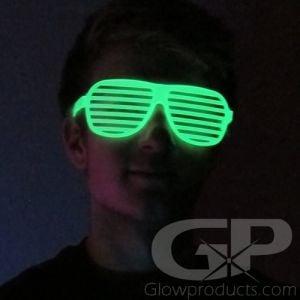 Glow in the Dark Shutter Shades