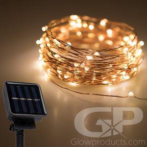 LED Solar String Lights