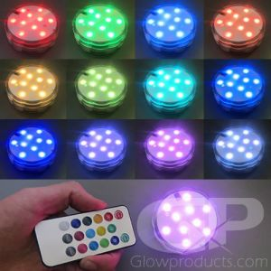 Multi-Color Battery Powered Glowing Decoration Party Light