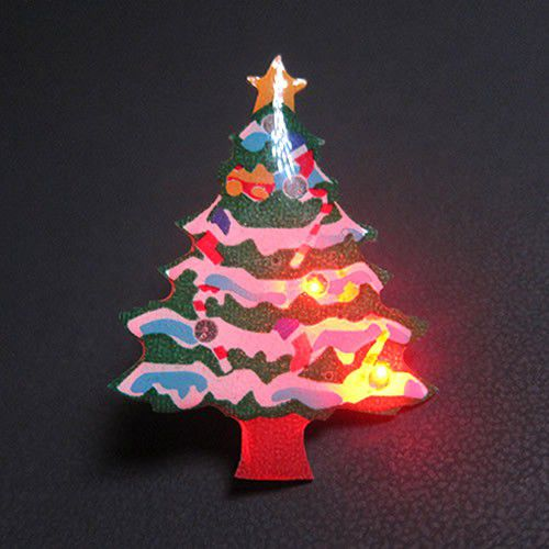 Christmas Tree Flashing Pin