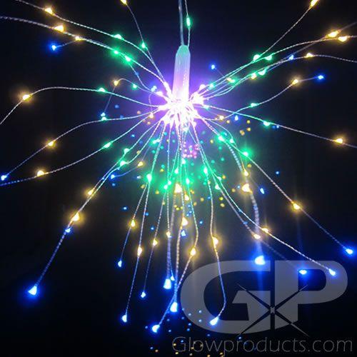Colored Led Lights >> Fireworks Led String Lights Multi Color