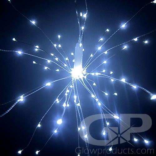 Light Starburst White Firework Led String