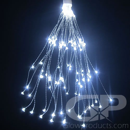 White Led String Lights For Decor