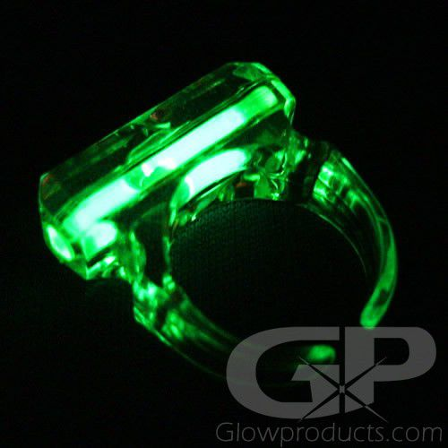 Glowing Finger Rings Glow Rings Glowproducts Com