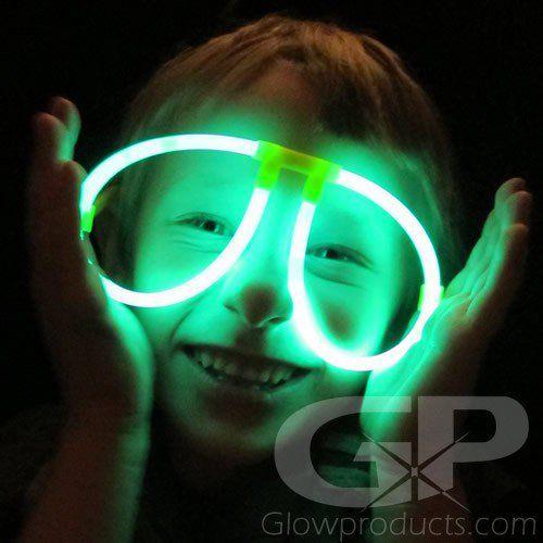 24b7948d7a7 Glowing Eye Glasses - Glow Glasses
