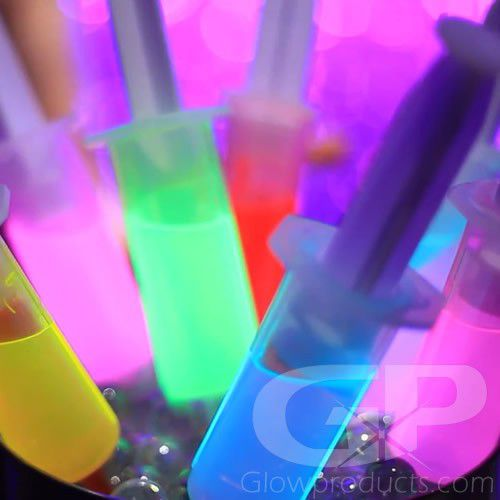 Glo-Shot Glowing Shooter Injector Syringes