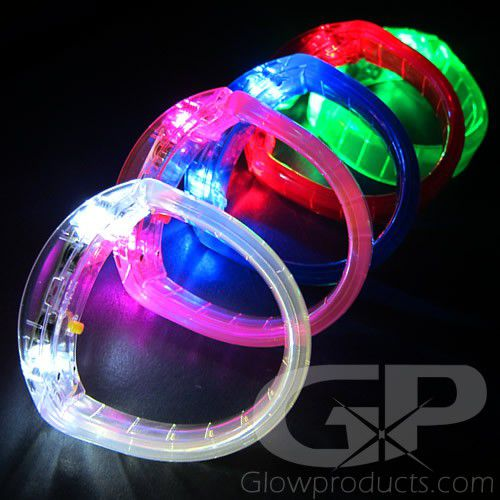 Led Bracelets Glowing Bangle Wristbands