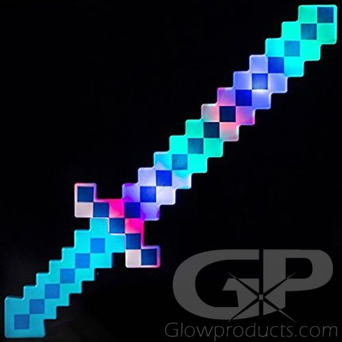 8 Bit Pixel Toy Sword
