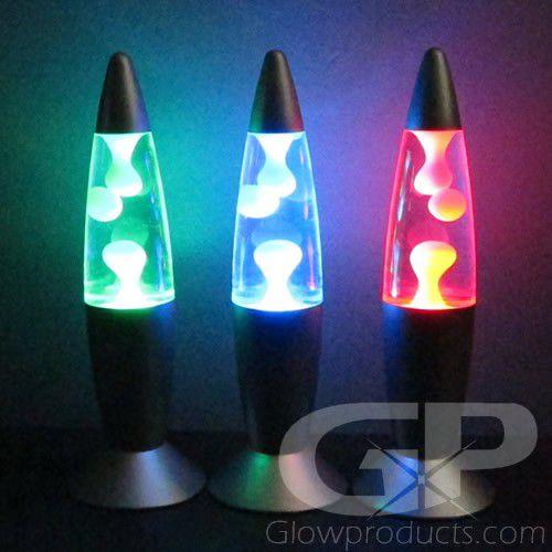 Color Changing Mini Lava Lamps