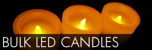 Bulk Flameless Candles Wholesale